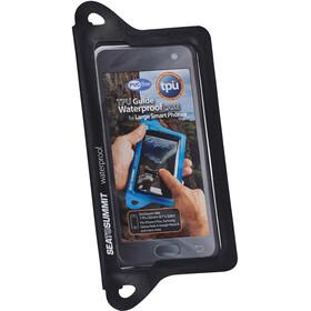 Sea to Summit TPU Guide Waterproof Etui dla smartfonów XL, czarny/przezroczysty